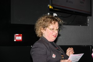 Lynda Shentall at our 10th anniversary event