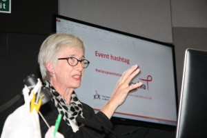 Jane Anderson at our 10th anniversary event